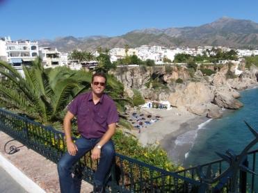 Aventura Malaga - Nerja sett fra balkong Europa